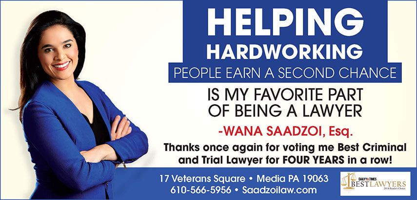 Helping hardworking people earn a second chance is my favorite part of being a lawyer -Wana Saadzoi, Esq.